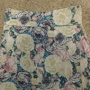 LuLaRoe Skirts - LuLaRoe XL Floral Maxi Skirt